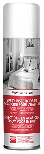 FRONTLINE PET CARE - Spray anti-puces anti-acariens pour la maison - 250ml 21